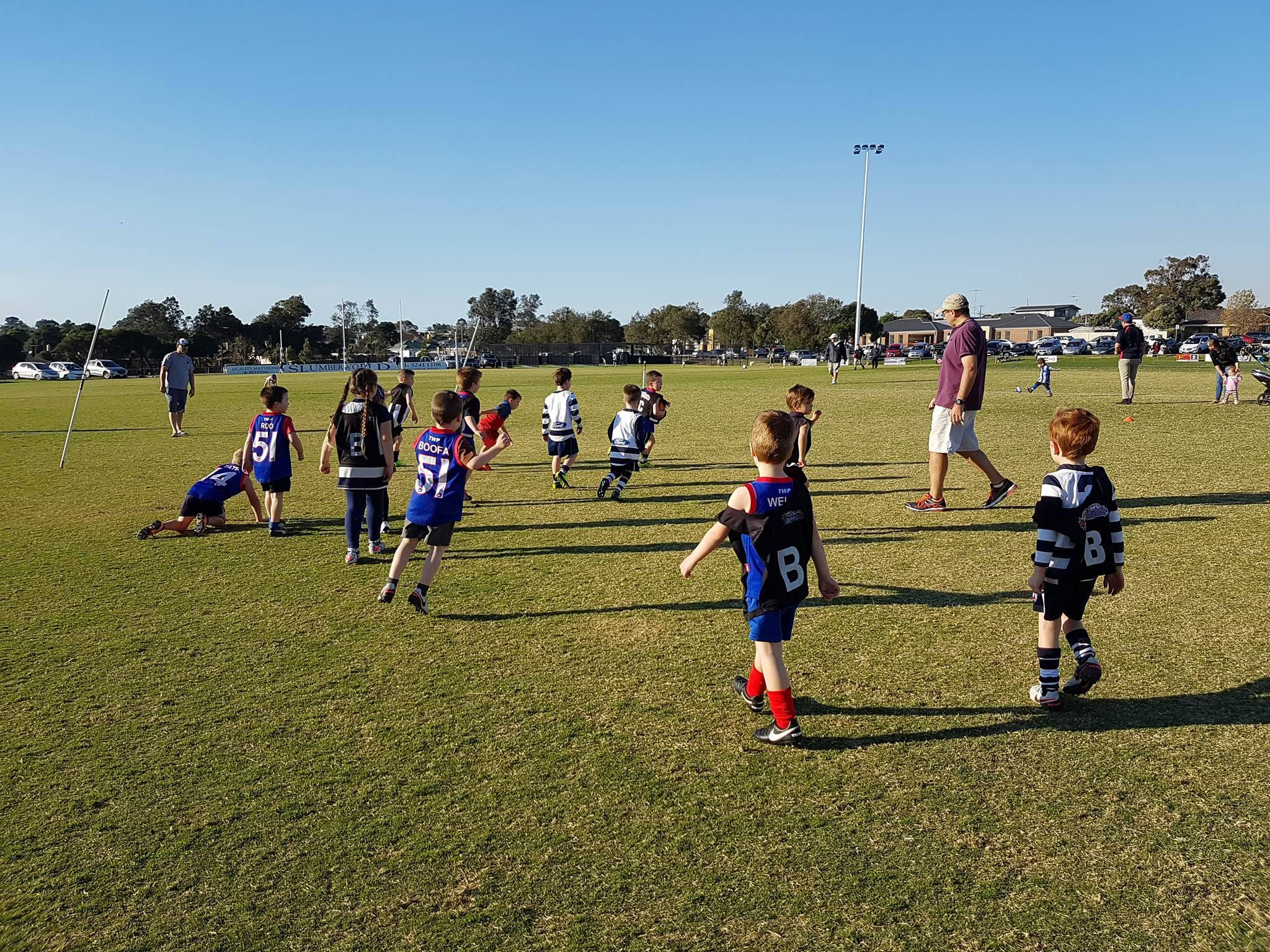 Junior Football Training Schedule and Dates