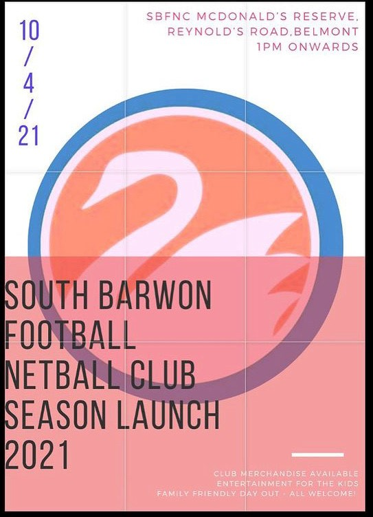 SBFNC Season Launch – Saturday 10th April 2021